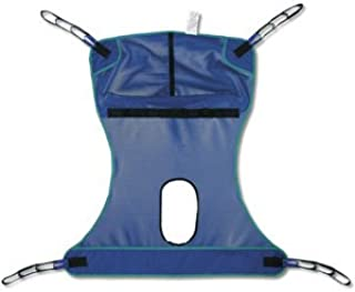 Invacare Compatible Mesh Full Body Sling with Commode Opening - Large 450 lb. (204 kg) max