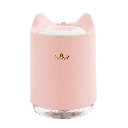 Luftbefeuchter Baby Schlafzimmer, Schlafmodus - Schlafzimmer Büro Desktop Luftbefeuchter-Rosa
