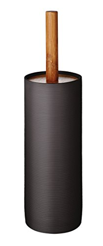 RIDDER 21054070 Brosse à WC Roller, Synthétique, Gris/Brun, 9 x 9 x 38 cm