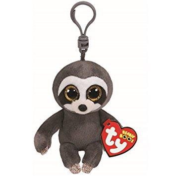 TY/Beanie Boos Dangler Sloth, Keyclip!