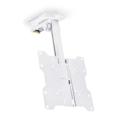 MULTIBRACKETS - VESA Flip Down Blanco - Soporte TV bajo estantería Plegable. VESA 20 x 20. Blanco