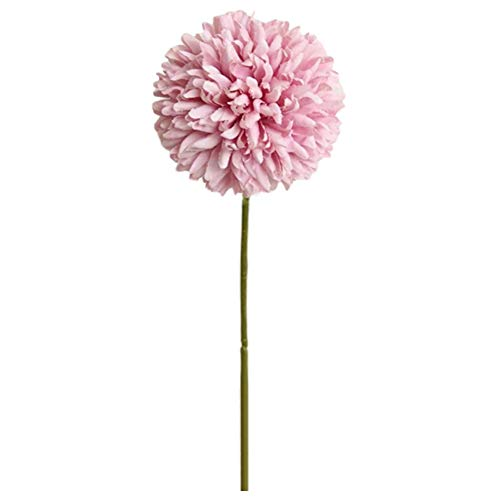 XdiseD9Xsmao 1 stuk kunstmatige bloemen met stekker voor bloemen en kunstbloemen om zelf te maken in de tuin, voor thuisgebruik, party, bruiloft, tafeldecoratie Roze Paars