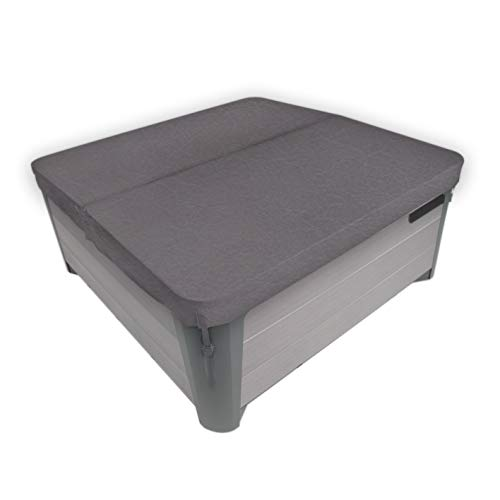 """MySpaCover Hot Tub Cover, Fits Any Shape Any Size Up To 96"""" - 5-inch taper"""