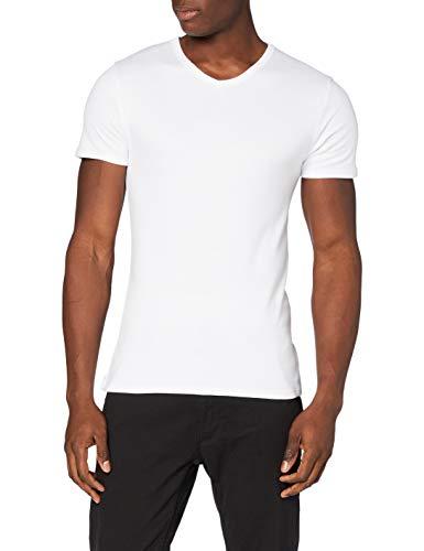 Abanderado Termal algodón Invierno Cuello uve Camiseta térmica, Blanco (Blanco 001), XX-Large (Tamaño del Fabricante:XXL/60) para Hombre