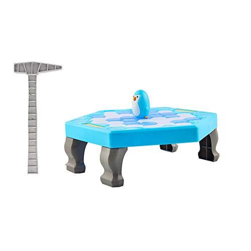 Doowops Penguin Trap Ice Breaker Juego Save Penguin on Ice Block Juguete Familiar Divertido Juego Juguetes educativos interactivos para ni/ños Cumplea/ños