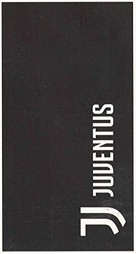 Telo Mare Piscina Ufficiale FC Juventus in Cotone Originale Nuovo Modello Juventus Bianco Nero, 90 x 170 cm