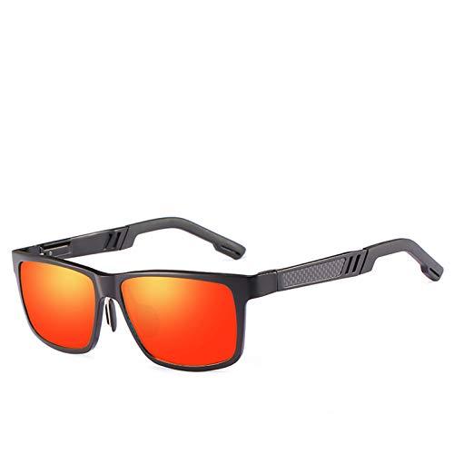 YYZ Gafas de sol para hombre, lentes cuadradas, diseño de montura pequeña, gafas protectoras para deportes al aire libre