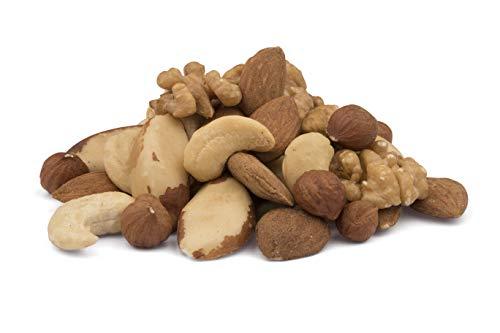 Mezcla de frutos secos orgánicos de 5 tipos de frutos secos – 750g – sin tostar y sin sal – crudos