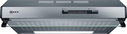 Neff DLAA600N (D60LAA0N0) / Unterbauhaube / 60cm / Edelstahl / Wahlweise Abluft- oder Umluftbetrieb