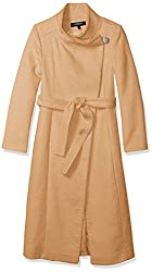Fencer Melton Wool Maxi Coat By Kenneth Cole New York
