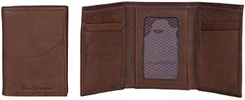 Ben Sherman Manchester Slim Bifold Leather RFID Minimalist Men's Wallet