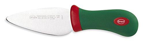 Coltello rigido, per tagliare a scaglie formaggi stagionati (es. parmigiano, grana, asiago) Lunghezza lama: 11 cm Made in Italy