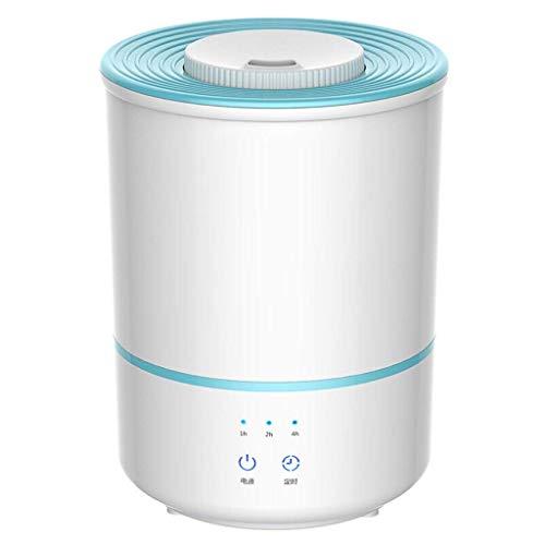 Mopoq Bequeme Luftbefeuchter mit Water Design, Schlafzimmer, Wohn Luftbefeuchter, Hausklimaanlage, Mute Klimaanlage, 3 L, Smart-Mist, 7H Timer, 3-Gang-Nebel Rahmen