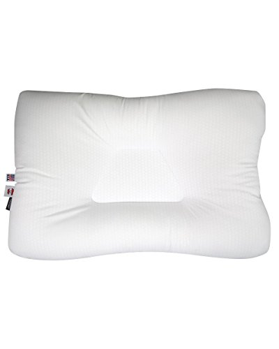 Core Products Tri-Core Comfort Zone Cervical Support Pillow, Temperature Regulating Outlast, Gentle, Full Size