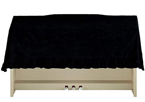 Clairevoire CLAVINOVA/ARIUS Digital Piano Dust Cover | water-proof | Handcrafted with luxury-grade Premium Velvet | FITS YAMAHA/CASIO/KAWAI DIGITAL UPRIGHT PIANOS AND OTHERS (57.8 in (147cm))