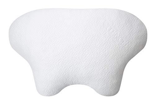 Nachtwaechter LINA CPAP- und Seitenschläfer-Komfort-Kissen, in Höhe und Härte individuell anpassbar für Schnarcher, Seitenschläfer und CPAP-Masken-Trägern im FlexPoint Set mit Rückentipps ABC