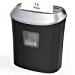 Paper Shredder,12-Sheet Cross-Cut Paper/CD/Credit Card Shredder, 5.8 Gallons Shredder for Home Office Use with Pullout Basket,Overload and Overheating Protection (Renewed)