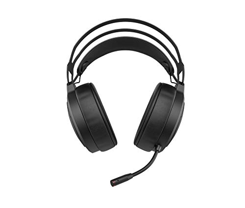 HP X1000 Wireless Gaming Headset (Kabellos, USB-Dongle, 7.1 Surround Sound, 50mm Treiber, Mikrofon, LED-Stummanzeige) schwarz