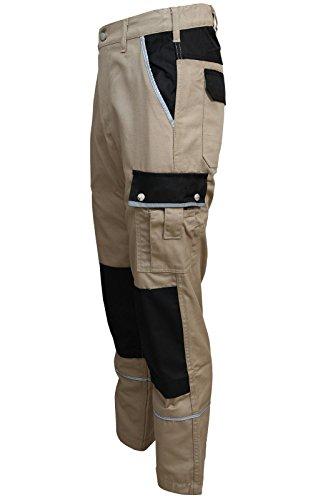 TMG TMG Arbeitshose Bundhose Canvas 320g/m² Khaki Gr. 46