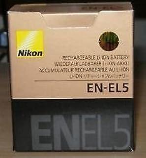 Nikon EN-EL5 Rechargeable Li-ion Battery for COOLPIX P530 COOLPIX P520 COOLPIX P510 COOLPIX P500 COOLPIX P100 COOLPIX P90 ...