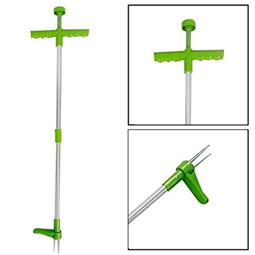 Find Bargain Iekofo Garden Stand-Up Weeder and Root Removal Tool - Ergonomic Weed Puller, Easy Weed ...