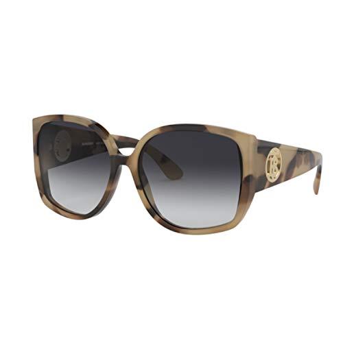 Burberry zonnebril dames 4290 35013C bruin vierkante lenzen smoked