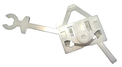Twowinds - raamheffer reparatieset clip meenemer voor links Panda Iveco Euro bus 2003-2012