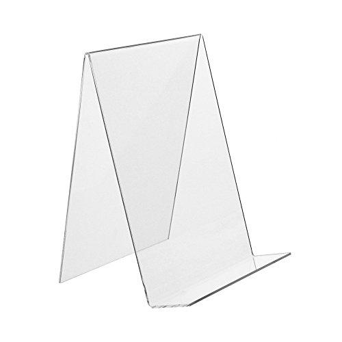 DIN A5 Buchstütze/Buchständer / Warenstütze/Warenträger aus Acryl