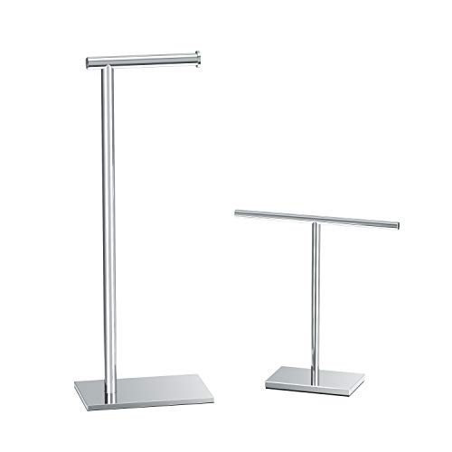 Top 10 best selling list for free standing toilet paper holder for counter tops