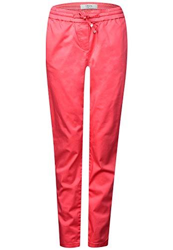Cecil B372015 Pantalones de Jogging Holgados, Neo Coralline - Casco de Ciclismo,...