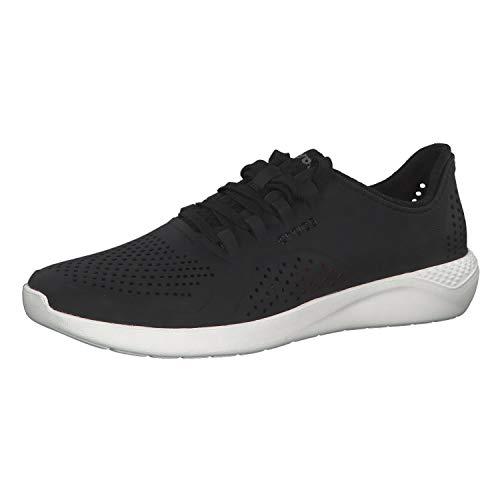 Crocs Herren Literide Pacer Sneakers, Schwarz (Black/White 066b), 39 EU