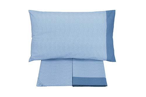 Gabel Completo Letto, Blu Spot, Singolo