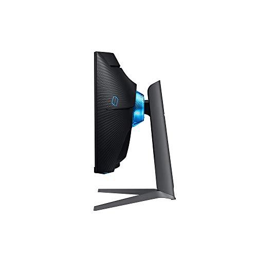 Samsung G7 (C32G73TQSR) 80,01 cm (32 Zoll) QLED Curved Odyssey Gaming Monitor (2.560 x 1.080 Pixel, 240 Hz, 1ms, 1000R, Dual Monitor geeignet, PC Monitor, AMD FreeSync, G-Sync Kompatibel) schwarz