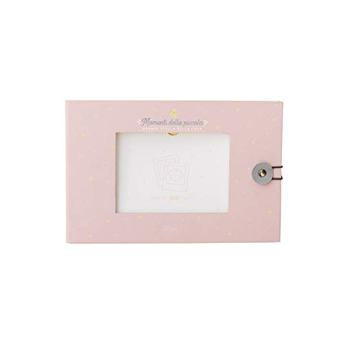Baby-fotoalbum roze - kleine sterretjes uit het huis