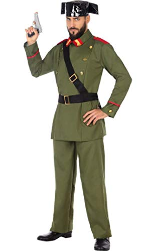 ATOSA disfraz guardia civil hombre adulto XL