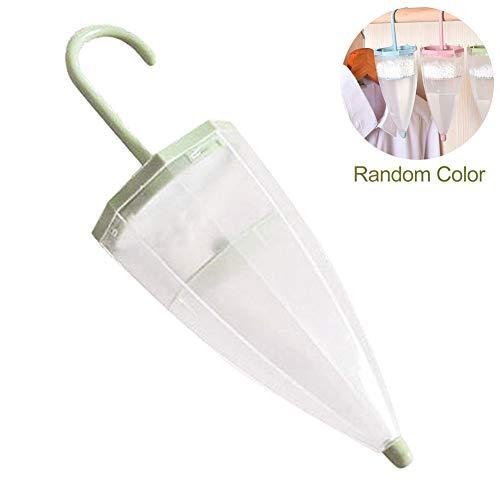 Knowooh luchtontvochtiger interieur ophangen garderobe luchtontvochtiger paraplu vorm vocht absorberend laboratorium getest navulbaar, vermindert schimmel en geuren