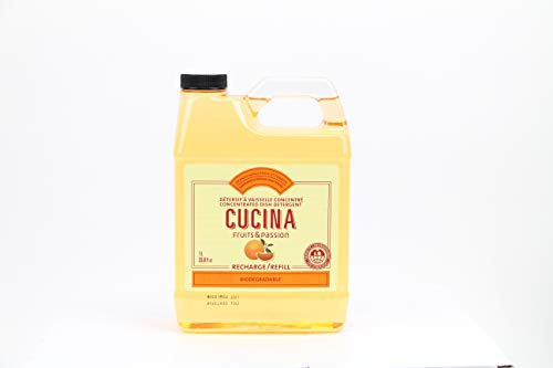 Fruits & Passion Cucina Dish Soap Detergent Refill Sanguinelli Orange and Fennel