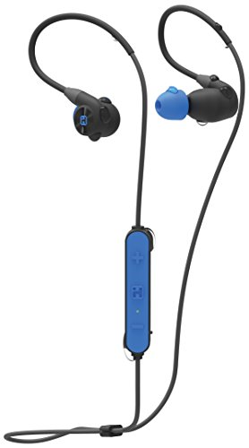 iHome iB76BLC Splashproof Sweatproof & Shockproof Bluetooth Sport Headphone with Mic