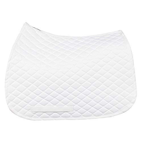 TuffRider Basic All Purpose Saddle Pad White