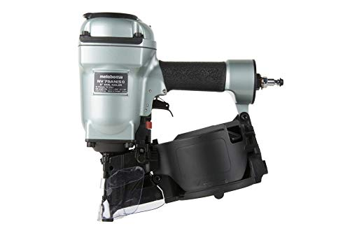 """Metabo HPT Coil Pallet Nailer   High Capacity Side Load Magazine   3-Inch x .131"""" Wire or Plastic Nails   NV75AN(S1)"""