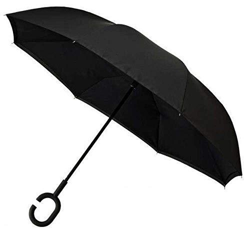 Impliva, Unisex Taschenschirm schwarz schwarz onesize