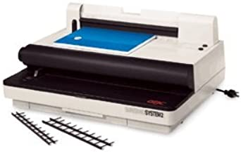 9707030 GBC Velobind System 2 Velo Binding Machine, Binds Books Up To 2