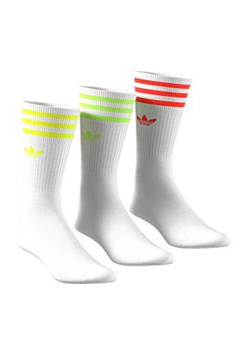 adidas Originals Socken Dreierpack SOLID CREW FM0625 Weiß, Size:43/46