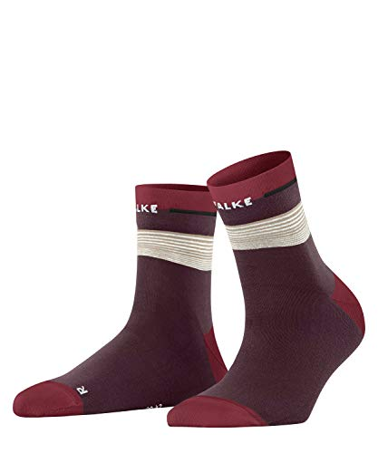 Falke Nature Bond Calcetines cortos, Rojo (Bordeaux 8100), 39-41 Unisex Adulto