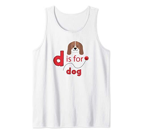 D es para diseño de pelota de tenis para perros Camiseta sin Mangas
