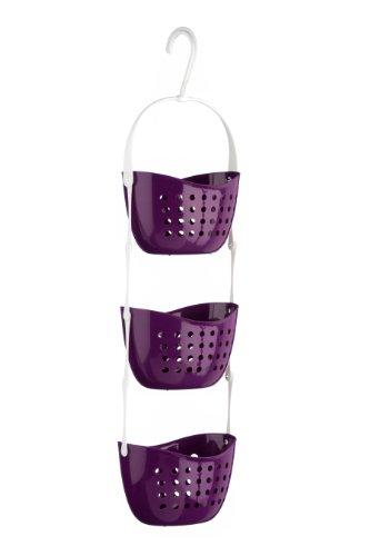 Premier Housewares 1601486 - Estante para Ducha, Color Morado