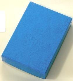 お道具箱からデスクトレーご家庭での書類整理に 整理箱 青