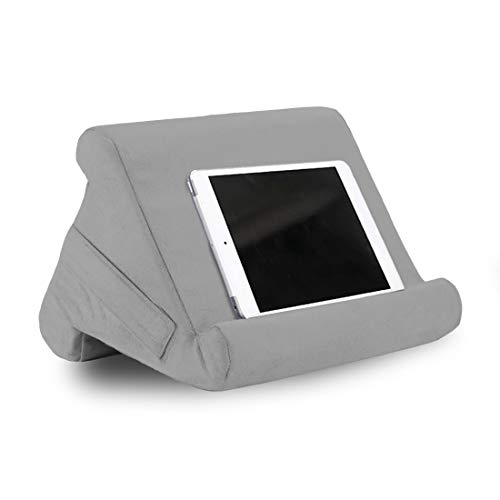 Puimentiua Lap Holder Pad Stand, Phone Holder Tablet Book Support Cushion Stand Compatible with New 2020 iPad Pro 9.7, 10.5, 12.9, iPad Air Mini 2 3 4, Switch, Samsung Tab, iPhone, Books
