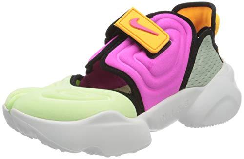 Nike Aqua Rift, Zapatillas Deportivas Mujer, Volt Fuchsia Blast Black Pistachio Frost Gold, 37.5 EU