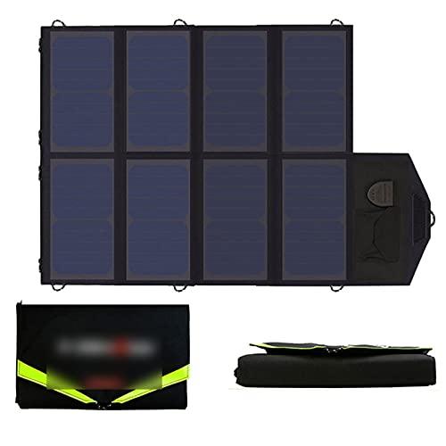 ZhuFengshop Paneles solares de 100W 5V 12V 18V Cargador de Panel Solar para iPad LG Batería de Coche HP. (Color : 40W Black)